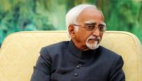 Civil society appeals to Hamid Ansari for 'uninterrupted discussion on Finance Bill'