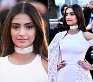 Sonam Kapoor makes her first Cannes appearance