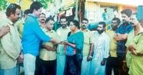 Punalur auto drivers save collection for temple festival to help cancer-affected colleague