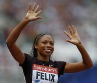 Top US woman sprinter can go for Rio double after schedule change