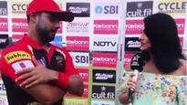 WATCH | Mayanti Langer can't stop blushing as she interviews Stuart Binny on their 'special day'