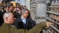 Netanyahu: Jordan border wall to keep out 'predators'