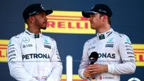 Hamilton and Rosberg getting along swimmingly, thanks to shared pool