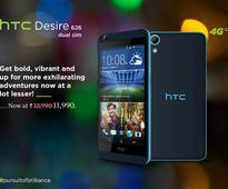 HTC Desire 626 Dual SIM Gets Another Price Cut in India