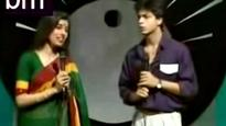 Watch | Blast from the past: When Shah Rukh Khan was a Doordarshan anchor