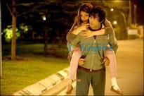 Kajal Aggarwals foot injury gives birth to a romantic sequence in Do Lafzon Ki Kahani