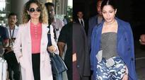 Kangana Ranaut or Freida Pinto  who wore the layered look better?