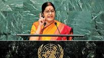 China's Global Times gets shriller, alleges Sushma Swaraj 'lied in parliament'