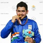 Craving out a niche: gold medallist Anish creates history