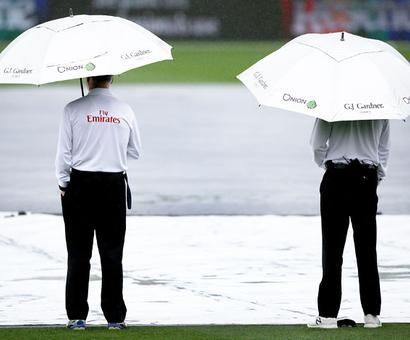 Rain forces stumps on Day 1 in third NZ-South Africa Test