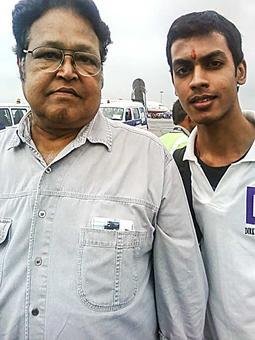 Spotted: Actor Viju Khote in Mumbai