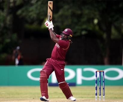 2018 World Cup Qualifiers: Gayle's record ton powers WI to victory