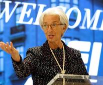 IMF chief Lagarde warns slowing productivity risks living standards drop