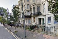 Brighton balcony collapse: Four people injured - two seriously - after first floor structure collapses from underneath them