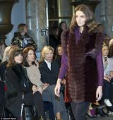 Princess Mary sits front row at Copenhagen Fashion Week to support Jesper Hovring