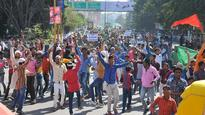 MP: Over 10k take to streets against communal slur