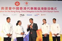 CE commends excellent performance of Hong Kong, China delegation to Rio 2016 Olympic Games (with photos)