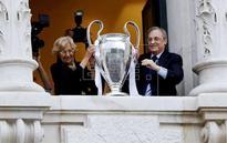FÚTBOL REAL MADRID - Florentino dedica la Liga de Campeones a los fallecidos en el atentado de Irak