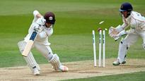 Parry and Kerrigan leave Surrey in a spin