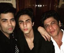 In pictures: Shah Rukh, Aryan, AbRam, Kareena, other celebs at Karan Johar's birthday bash