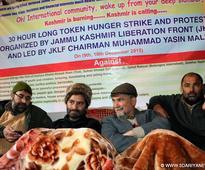 Yasin Malik begins 30-hour hunger strike