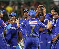 Rajasthan Royals To A Four Wicket Win