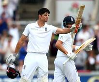 Alastair Cook laughs off comparisons with Sir Donald Bradman