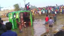 West Bengal: At least 8 dead after bus overturns while trying to avoid speeding bike
