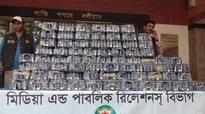2,850 phensedyl bottles seized in Turag