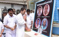 Cyclone Ockhi: Rahul Gandhi visits fishermen in Tamil Nadu, Kerala, assures help