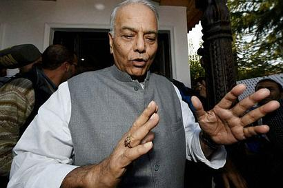 Two CMs tweet support to Yashwant Sinha's farmer protests