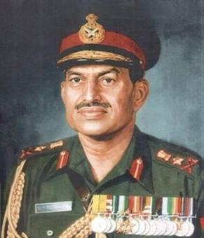 Ex-Army chief, hero of '71 war Gen Krishna Rao passes away