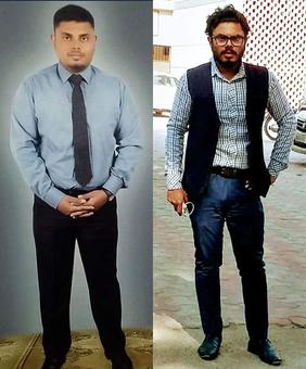 Fat to fit: I lost 20 kilos in four months