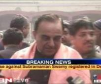 Police response sought on Swamy's plea for quashing article FIR