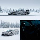 Bosch and Pagani test Huayra BC in the Arctic Circle