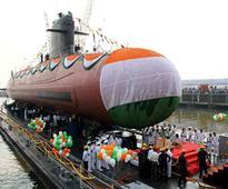 PM Modi commissions Scorpene submarine INS Kalvari
