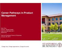 Career Pathways in Product Management