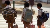 Maharashtra: 12-yr-old to stage sit-in on Oct 2 over heavy school bags