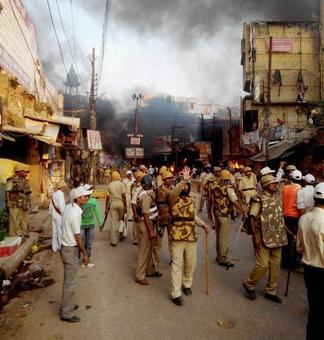 Violence after cow killing rumours in UP's Mainpuri; 21 arrested