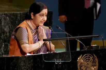 She made India extremely proud at world stage: PM lauds Swaraj address