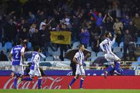 Real Sociedad beats Atletico Madrid to move near the leaders in Spain