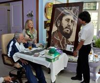 Evo Morales Meets with Fidel Castro Before Leaving for Bolivia