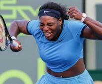 Serena closes in on ninth Miami title