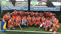 Hockey: Indian women's team beat Belgium junior men 4-3