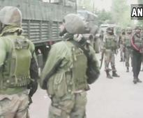 Two terrorists killed, one arrested in J&K