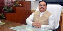 Nadda pats TRS govt for polio vaccination drive