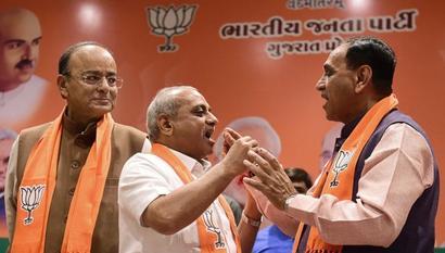 Rupani to remain Gujarat CM, Patel his deputy