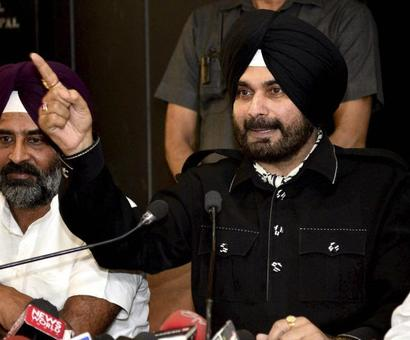 Sidhu 'most welcome', says Congress