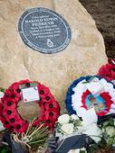 Memorial To Holme Fen Spitfire Pilot Unveiled