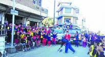 Songs of peace fills CCpur streets